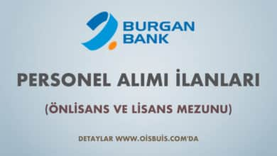 Burgan Bank 2020 Şubat Ayı Personel Alımı