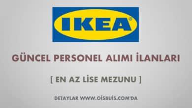 IKEA Türkiye 2020 Mart Ayı Personel Alımı