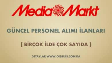 MediaMarkt 2020 Mart Ayı Personel Alımı