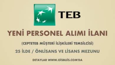 Türk Ekonomi Bankası Personel Alımı