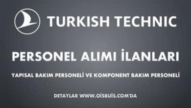 Türk Hava Yolları Teknik Personel Alımı