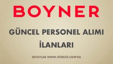 Boyner 2020 Nisan Ayı Personel Alımı