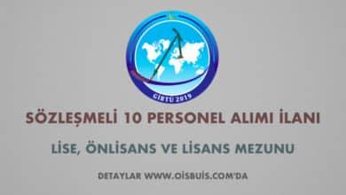 Gaziantep İslam Bilim ve Teknoloji Üniversitesi Sözleşmeli 10 Personel Alımı İlanı