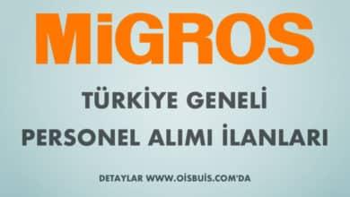 Migros 2020 Mart Ayı Türkiye Geneli Personel Alımı