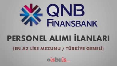 QNB Finansbank 2020 Mart Ayı Personel Alımı