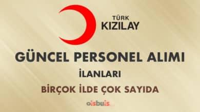 Türk Kızılayı 2020 Mart Ayı Personel Alımı