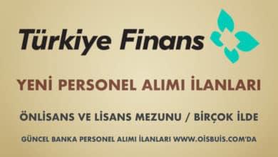 Türkiye Finans Katılım Bankası 2020 Mart Ayı Personel Alımı