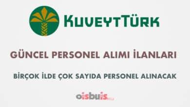 Kuveyt Türk Katılım Bankası 2020 Nisan Ayı Personel Alımı