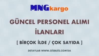 MNG Kargo 2020 Nisan Ayı Personel Alımı