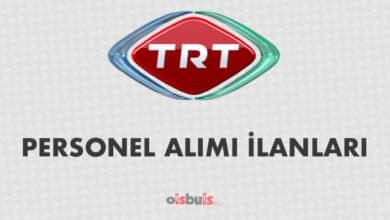 TRT 2020 Nisan Ayı Personel Alımı