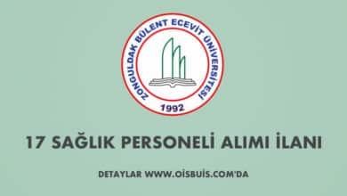 Zonguldak Bülent Ecevit Üniversitesi Sözleşmeli 17 Sağlık Personeli Alımı