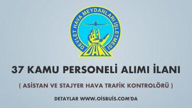 DHMİ 37 Kamu Personeli Alımı