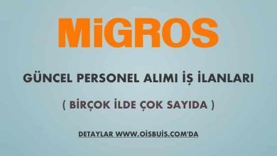 Migros 2020 Mayıs Ayı Güncel Personel Alımı
