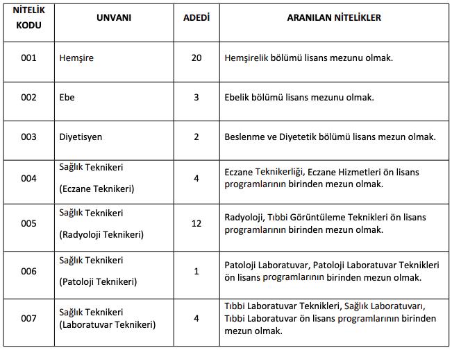 Hatay Mustafa Kemal Üniversitesi Sözleşmeli 46 Personel Alımı Detayları