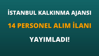 İstanbul Kalkınma Ajansı 14 Personel Alım İlanı Yayımladı!