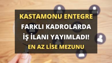 Kastamonu Entegre Ağaç Sanayi Farklı Kadrolarda İş İlanı Yayımladı!