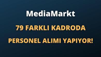 MediaMarkt 79 Farklı Kadroda Personel Alımı Yapıyor!