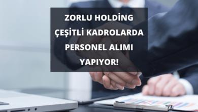 Zorlu Holding Çeşitli Kadrolarda Personel Alımı Yapıyor!
