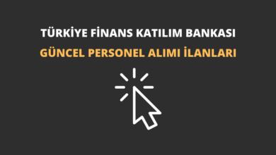 Türkiye Finans Katılım Bankası Personel Alımı İlanları