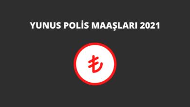 Yunus Polis Maaşları 2021