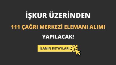 İŞKUR Üzerinden 111 Çağrı Merkezi Elemanı Alımı Yapılacak!