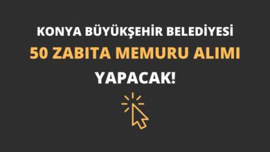Konya Büyükşehir Belediyesi 50 Zabıta Memuru Alımı Yapacak!