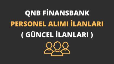QNB Finansbank Personel Alımı İlanları