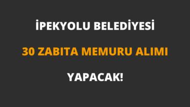 İpekyolu Belediyesi 30 Zabıta Memuru Alımı Yapacak!
