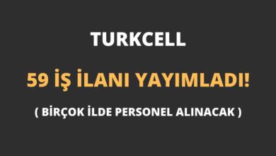Turkcell 59 İş İlanı Yayımladı!