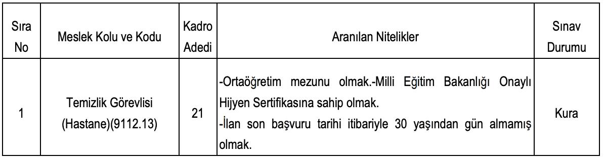 Ankara Üniversitesi İŞKUR Üzerinden 45 İşçi Alımı Yapacak!