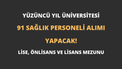 Yüzüncü Yıl Üniversitesi 91 Sağlık Personeli Alımı Yapacak!